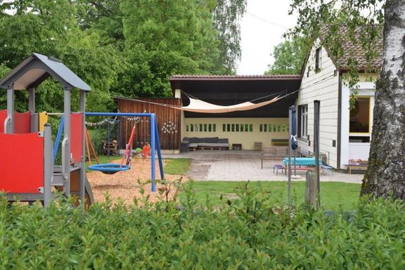 Kindergarten Waldbach Außenbereich