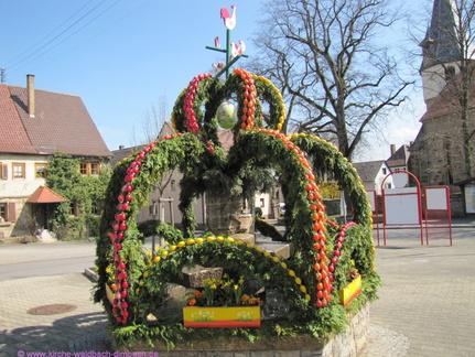 Osterbrunnen Waldbach