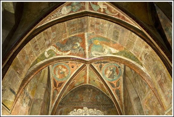 Chordecke Kilianskirche Waldbach