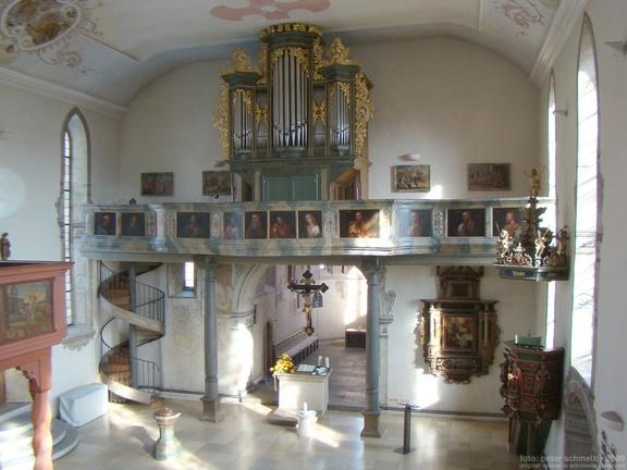 Orgel Kilianskirche Waldbach